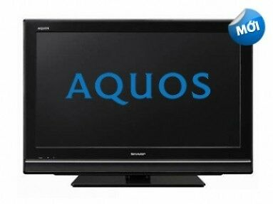 "SHARP AQUOS LCD TV LC-32M400M -BK Television BLACK 32"" inch WALL Tv (Read Condition below)"