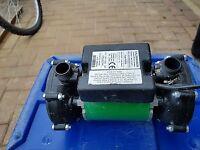 Salamander pumped shower system Right RSP50