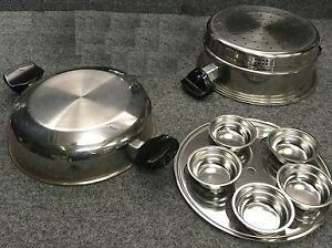 Bain Marie Steamer (water bath or double boiler) pot