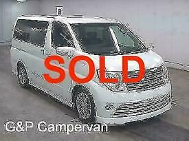 Nissan Elgrand Campervan SOLD
