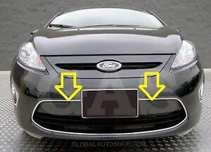 NEW Front Bumper Grille for 2011-2012 Ford Fiesta