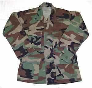Woodland-Camouflage-BDU-Shirt