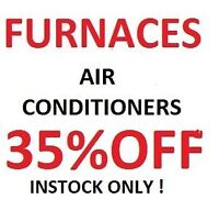 furnaces 35% off