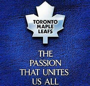 PAIR of side-by-side Toronto Maple Leafs tickets
