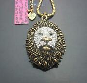 Vintage Lion Necklace
