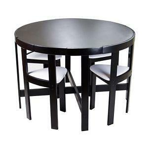 Round Dining Table EBay - Round farm table with leaf