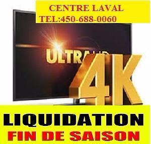 LIVRAISON GRATUITE PARTOUT AU QUEBEC,5000 TV SAMSUNG,LG,SHARP,SONY,VIZIO A LIQUIDER 24 MOIS GARANTIE,