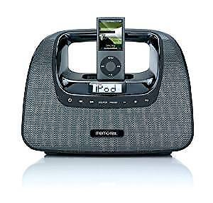 IPOD BOOMBOX with FM RADIO - Memorex M3x-BLK