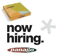 panago pizza country hills is now hiring part time start tom!!