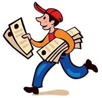 Flyer delivery job