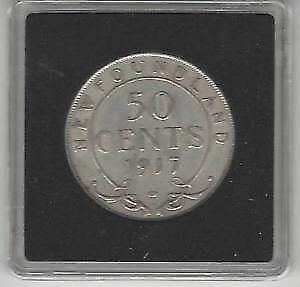 1917 Newfoundland 50 Cents - 100 Years Anniversary Coin