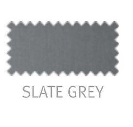Paris headboard slate grey double