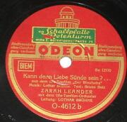 Zarah Leander Schellack