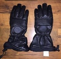 harley-davidson leather insulated gloves