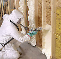 SPRAY FOAM INSULATION - Residential & Commercial