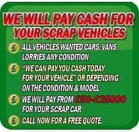 ✅ALL VEHICLES WANTED TOP PRICES PAID✅