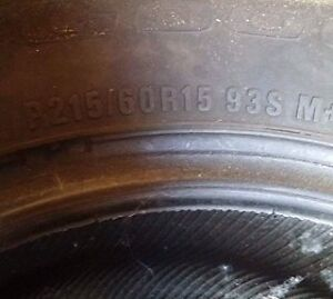 tire dhiver /winter tire tres bonne condition Gatineau Ottawa / Gatineau Area image 2