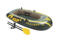 Inflatable boat - NEVER OPENED