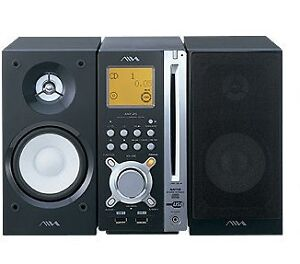 Aiwa AWP-ZP5 Micro HiFi System overview(CD feature doesn't Work)