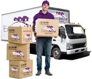 Extra Mile Movers Local & Interstate Removalists Services Sydney City Inner Sydney Preview