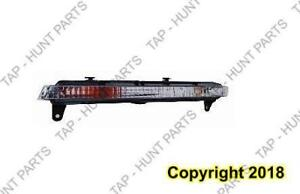 Signal Lamp Front Driver Side Without Led High Quality Audi Q7 2007-2009