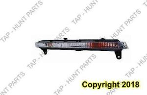 Signal Lamp Front Passenger Side Without Led High Quality Audi Q7 2007-2009