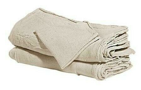 2500 industrial shop cleanup rags / towels natural