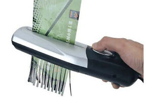 Portable Handheld Shredder