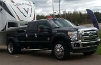 Ford F450/350 Lariat Dually with American Force Rims