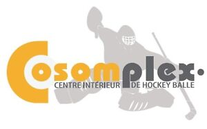 Ligue de hockey balle cosom mixte Laval printemps été 2016