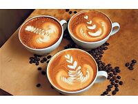 Barista with passion and experience required