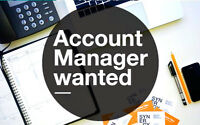 Account Manager | $16 - $20 per hour