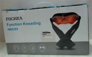 NEW Fochea Electric Shiatsu Kneading Massager with Heat