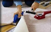 carpet installation and repairs re-stretches and stairs case