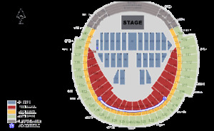 Ed Sheeran 2 FLOOR SEATS - Aug 30th