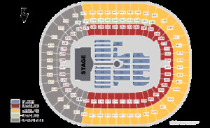2 Coldplay Tickets BC Place 200 Lower Level at Face Value