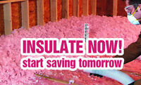 INSULATION MASTER! Need Blown In Insulation? Call Now!