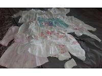 Massive bundle of newborn baby girls clothes -see all photos