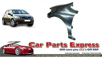 Front Wing Primed N//S Left Side Toyota Auris 2010-2012 Brand New High Quality