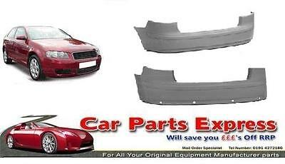 AUDI A3 2003/2005 REAR BUMPER PAINTED ANY COLOUR