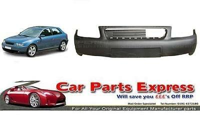 AUDI A3 2001/2003 FRONT BUMPER UPPER SECTION PAINTED ANY COLOUR