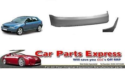 AUDI A3 2001/2003 REAR BUMPER PAINTED ANY COLOUR