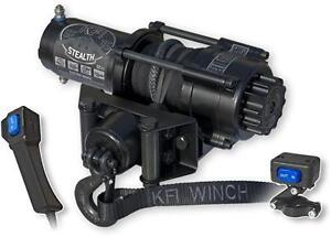 2500-3500-4500lb ATV/UTV Stealth Winch from KFI Products $399+up