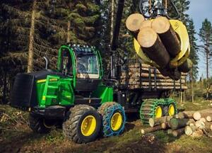 Forestry Equipment Financing - New or Used Harvesters, Porters, Chippers, Mulchers, Chip Vans, Log Trucks ETC.