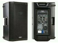X2 QSC K10 SPEAKERS WITH BAGS