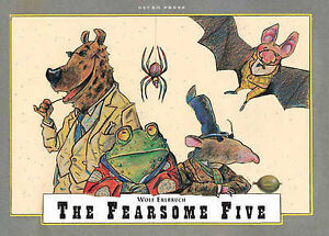The-Fearsome-Five-Wolf-Erlbruch-Paperback-Book-NEW-9781877467226