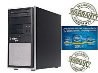 FAST DESKTOP GAMING COMPUTER PC INTEL i5 3.0GHz 8GB DDR3 DDR3 128SSD