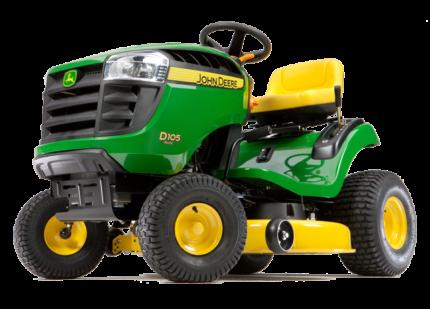 """John Deere D105 42"""" Ride On Lawn Mower Brand New With Warranty"""