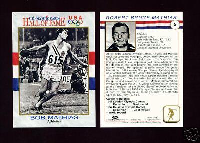 Sports Memorabilia Jackie Joyner-kersee Olympic Legends Tt Card Great Varieties