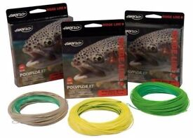 Brand new, boxed Airflo Ridge Supple Delta Floating WF6F Light Green fly line. Length 30 Yards.